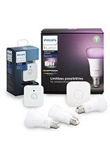 Philips Hue Color Starter Kit + Gratis Motion Sensor