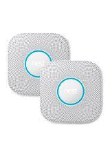 Google Nest Protect Røgalarm - 2. Gen - Batteri - 2 pak