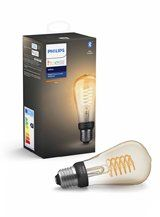 Philips Hue LED pære - E27 Filament Edison - BT