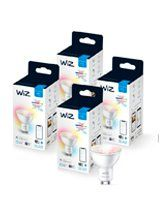 WiZ GU10 Color & Tunable White - WiFi - 4 pak
