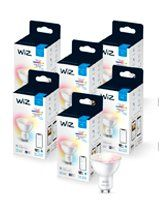 WiZ GU10 Color & Tunable White - WiFi - 6 pak