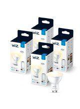 WiZ GU10 White - WiFi - 4 pak
