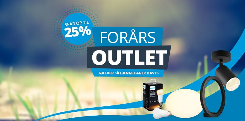 Forårs Outlet | Spar op til 55%