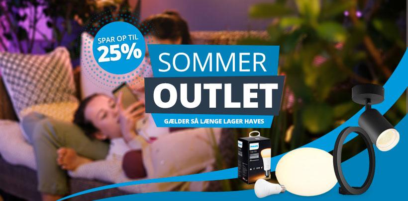 Sommer Outlet | Spar op til 25%