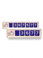 Smiirl Real-Time Facebook Like Counter