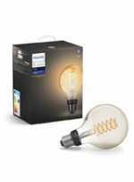 Philips Hue LED pære - E27 Filament Globe - BT