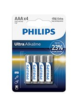 Philips Ultra Alkaline AAA (4-PACK)