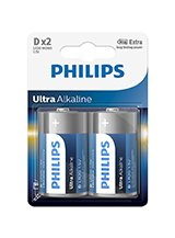 Philips Ultra Alkaline D (2-PACK)