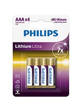 Philips Lithium Ultra AAA (4-PACK)