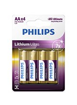 Philips Lithium Ultra AA (4-PACK)