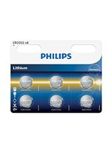 Philips Lithium Knapcelle CR2032 (6-PACK)