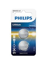 Philips Lithium Knapcelle CR2032 (2-PACK)