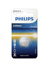 Philips Lithium Knapcelle CR2025