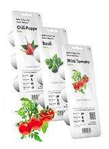 Click&Grow Plant Pods - Grøntsager og Frugt