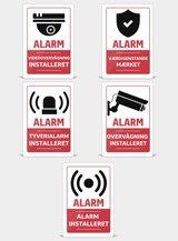Alarmmærker - Flere modeller