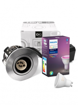 Philips Hue Color + HiluX D10 indbygningsspot