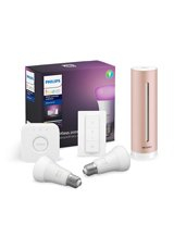 Netatmo Healthy Home Coach + Philips Hue Color Starter Kit