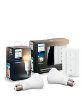 Philips Hue Ambiance Dimming Kit + E27 Ambiance Pære