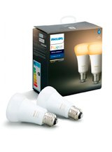 Philips Hue Ambiance E27 - Double Pack - BT
