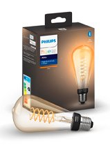 Philips Hue LED pære - E27 Filament Edison XL