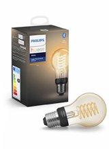 Philips Hue LED pære - E27 - Filament Spiral - 4-pak