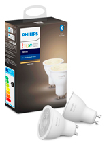 Philips Hue White GU10 - Dobbelt Pak - BT