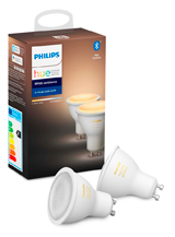 Philips Hue Ambiance GU10 - Double Pack - BT