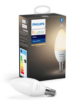 Philips Hue White LED pære - E14 Kerte - BT