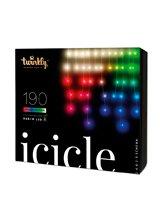 Twinkly Icicle Lyskæde - Speciel Edition - RGBW - 190 lys