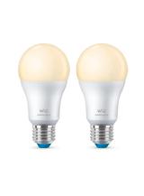 WiZ - E27 - White LED pære - 60W - 2-pak