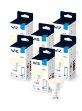WiZ GU10 White - WiFi - 6 pak