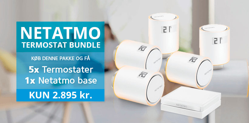 NETATMO termostat bundle