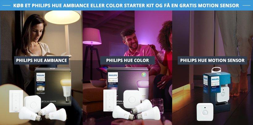 Philips Hue inkl. gratis Motion sensor