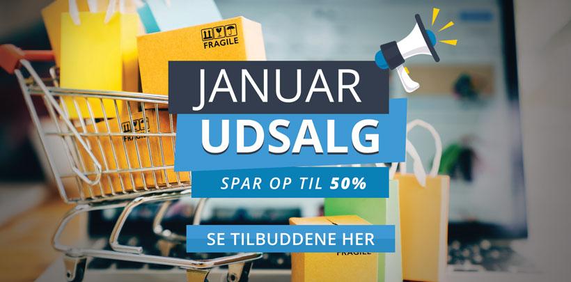 Januar udsalg på Smart.dk