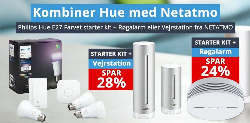 Philips Hue og Netatmo bundles
