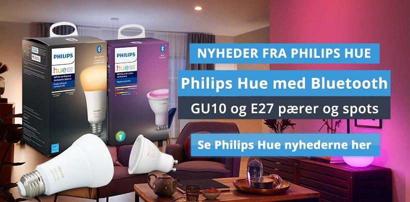 Nyheder fra Philips Hue