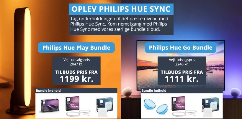 Oplev Philips Hue Sync