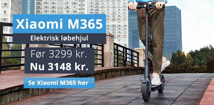 Xiaomi M365 - Elektrisk løbehjul - Før 3299 kr. Nu 3148 kr.